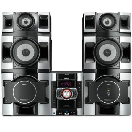 Mini System com USB Rec & Play / MP3 / Função Line Array /  770W RMS - Sony - CJMHCGTX888