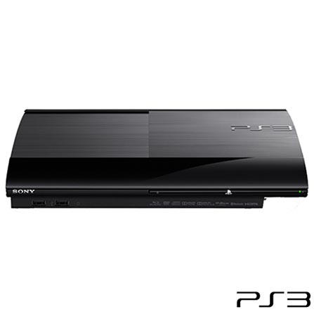Playstation 3 250GB com 2 controles, GM