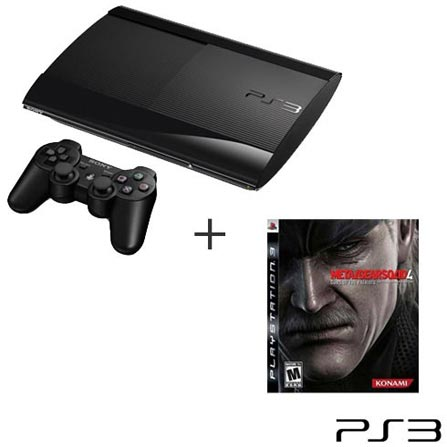 Playstation 3 250GB Preto Sony