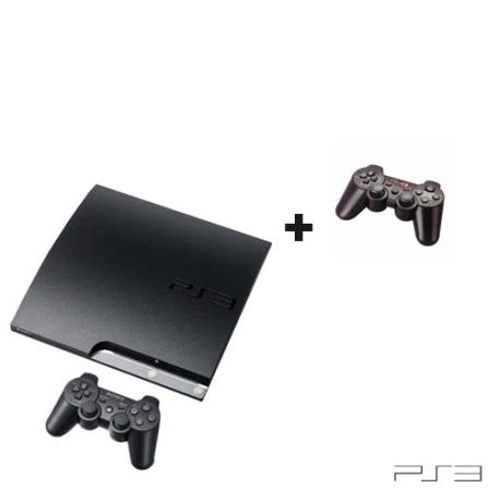 Console Playstation 3 160GB Preto para PS3 + Joystick Neo Preto para PS3, GM