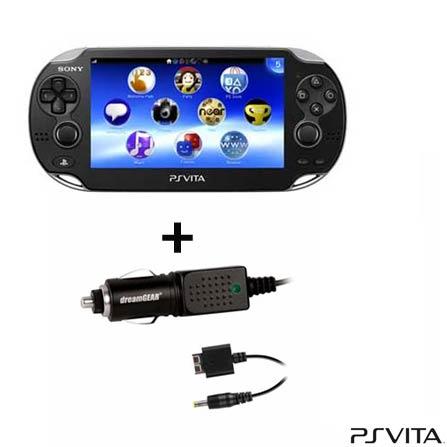 Playstation Vita Preto - PLAYVITA
