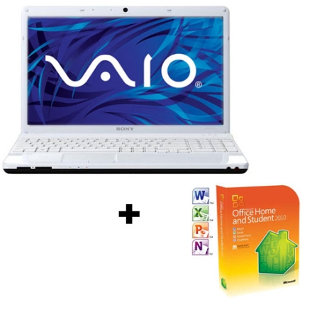 Notebook Sony Vaio EE43 Dual-Core + Office 2010