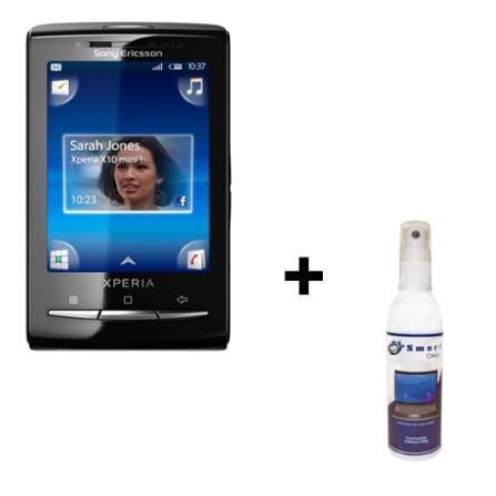 Smartphone X10 Mini Sony Ericsson+Limpador de Tela