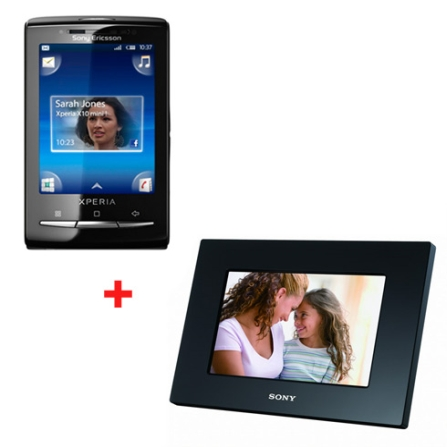Smartphone Sony Ericsson 3G X10 Mini Xperia com Tela Touch de  2,8