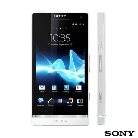 Smartphone Sony Xperia S Branco + Fone de Ouvido
