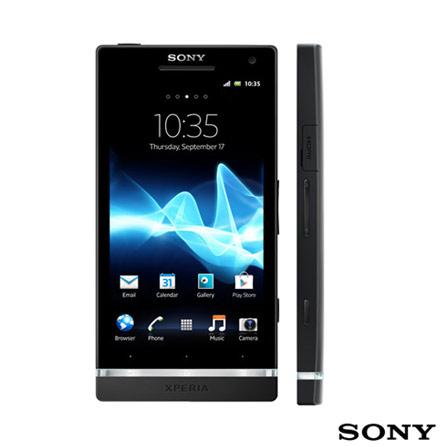 Smartphone Sony Xperia S Preto + Fone de Ouvido