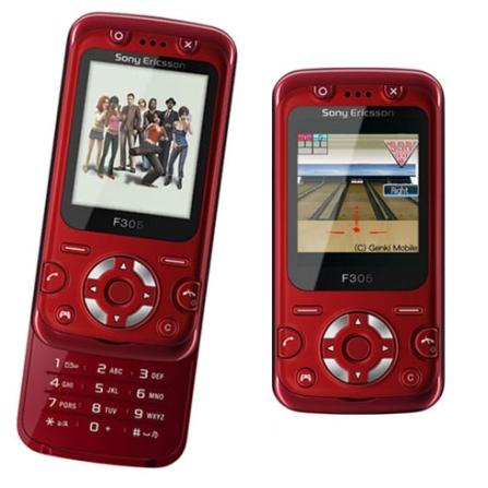 Celular F305 / Bluetooth / Jogos 3D Sony Ericsson