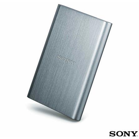 HD Externo 500 Gb Prata - Sony HDEG5SO2WW1