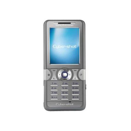 Celular GSM K550 Prata CyberShot com Câmera 2.0MP / Rádio FM / MP3 Player / Bluetooth / Cartão de 128MB - Sony Ericsson