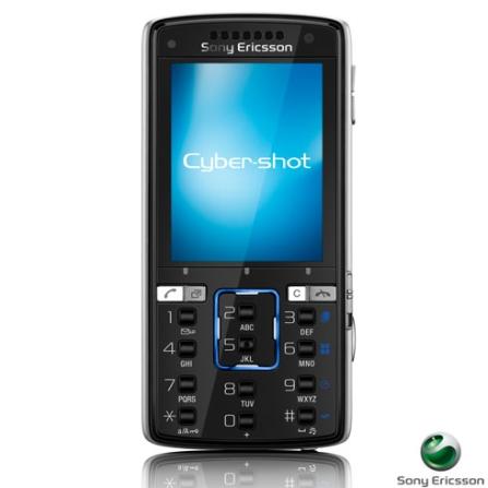 Celular GSM com Camêra de 5 MP / MP3 Player / Cartão de 1 GB - Sony Ericsson - K850