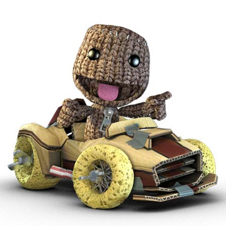 Jogo Little Big Planet Karting para PS3