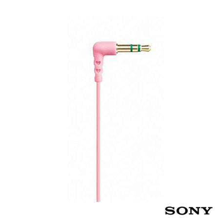 Fone de Ouvido Intra - Auricular - Sony, Rosa, 12 meses