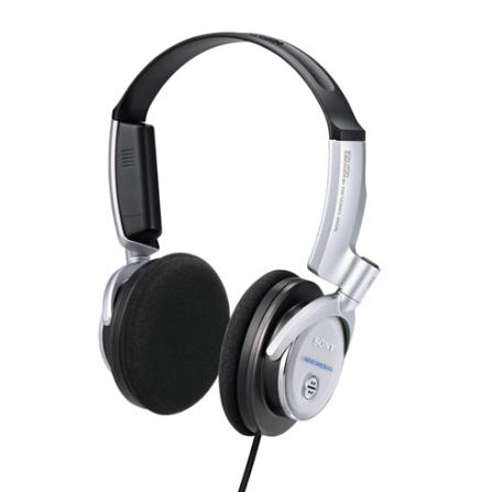 Fone de Ouvido Noise-Canceling Dobravel / Preto e Cinza - Sony - MDRNC6, Preto e Cinza, Headphone, 03 meses