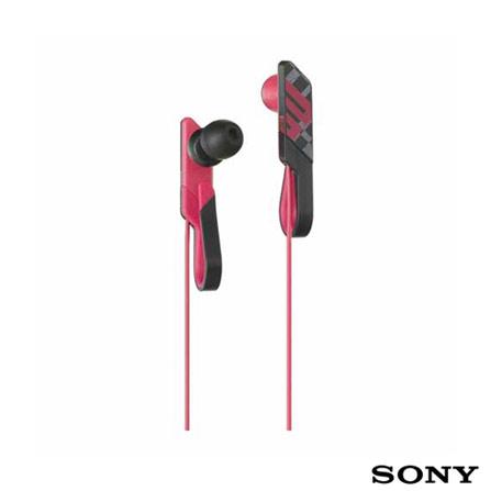 Fone de Ouvido Sony de Silicone Rosa, Rosa, 01 ano