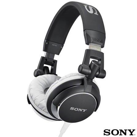 Headphone Preto - SONY - MDRV55BC