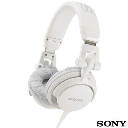 Headphone Branco - SONY - MDRV55WC