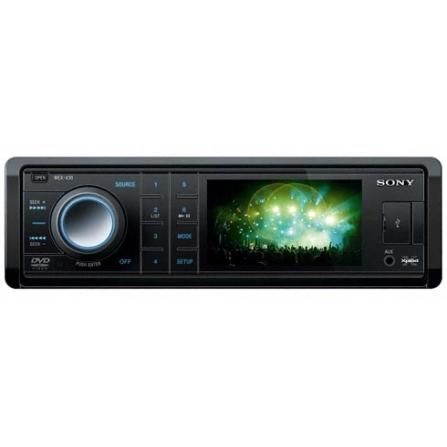 DVD Automotivo Sony Xplod XV30 com 26W, Tela Wide de 3