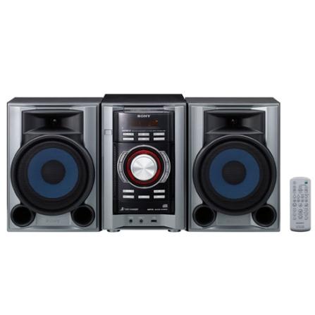Mini System com 160W RMS / 3 CD Changer / MP3 / USB Rec & Play / Cinza - Sony - MHCEC68USB