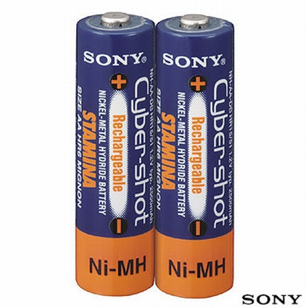 2 Pilha Recarregáveis Sony - NHAA2DB, DG