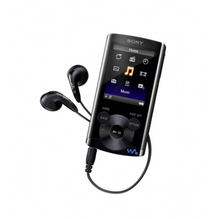 MP4 Walkman Sony NWZE363 Preta com Display de LCD QVGA 2
