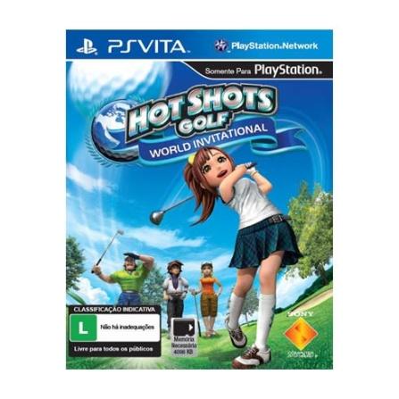 Jogo Hot Shots World Invitational para PS - Sony - PSVHOTSHOTS