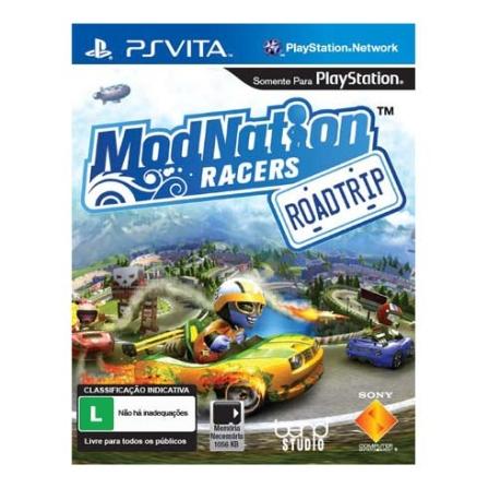 Jogo Modnation Racers para PS VITA - PSVMODNATION