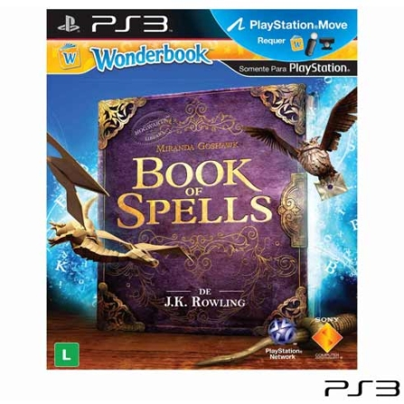Wonderbook: Book of Spells para PS3, GM