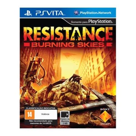 Jogo Resistance Burning Skies para PSVITA  - Sony - PVRESISTSKIE