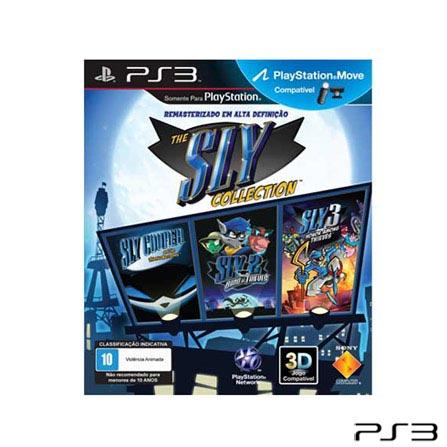Jogo The Sly Collection MR para PlayStation 3, Não se aplica, PlayStation 3, Aventura, Blu-ray, 10 anos, Não especificado, Não especificado, 03 meses