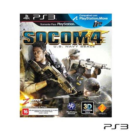 Jogo Socom 4 US Navy para PlayStation 3, Não se aplica, PlayStation 3, Tiro em Primeira Pessoa, Blu-ray, 18 anos, Não especificado, Não especificado, 03 meses