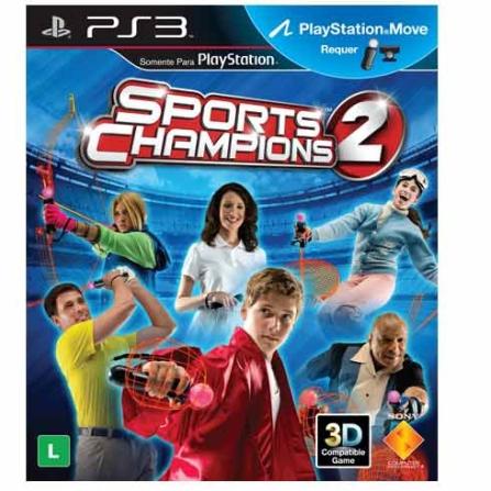 Jogo Sports Champions 2 para PS3, GM