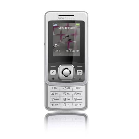 Celular GSM T303 Prata com Câmera de 1.3MP / Rádio FM / Tocador de MP3 / Bluetooth - Sony Ericsson