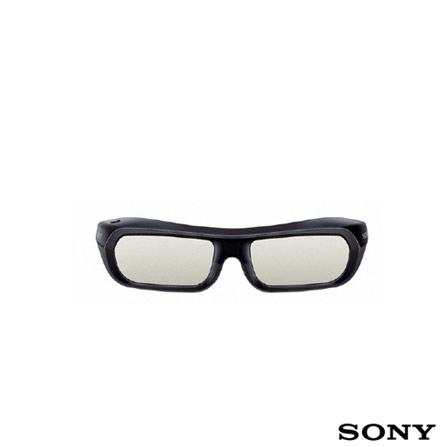 Óculos 3D Recarregável via USB – TDGBR250B – Sony, Óculos