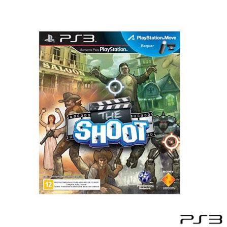 Jogo The Shoot para PlayStation 3, Não se aplica, PlayStation 3, Shooter, DVD, 14 anos, Não especificado, Não especificado, 03 meses