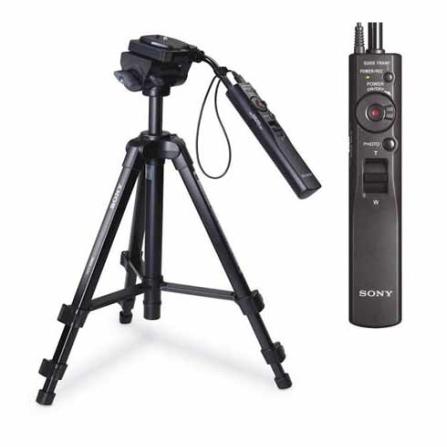 Tripé Universal Preto com controle  - Sony - VCT50AV