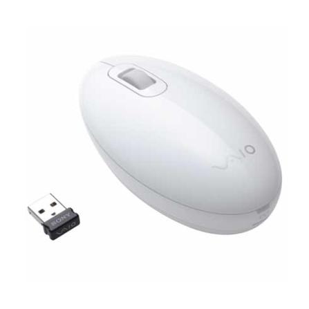 Mouse Wireless Branco Sony