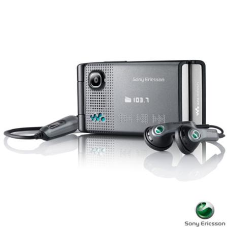 Celular GSM W380 Cinza com Câmera 1.3 MP / MP3 Player / Rádio FM / Bluetooth e Cartão de 512 MB - Sony Ericsson, Bivolt, Bivolt, Cinza, 0000003.30, True, 1, N, True, True, True, False, True, False, I