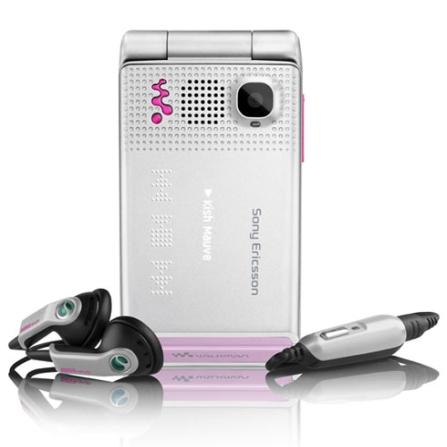 Celular GSM W380 Prata com Câmera 1.3 MP / MP3 Player / Rádio FM / Bluetooth e Cartão de 512 MB - Sony Ericsson