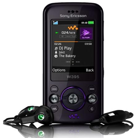 Celular GSM W395 Cinza com Câmera de 2.0MP / MP3 Player / Bluetooth / Rádio FM / Jogos 3D / Cartão de 2GB - Sony Ericsso