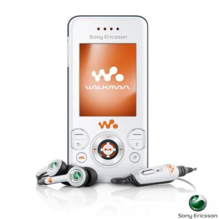 Celular GSM W580 Walkman Branco com Câmera de 2.0 MP, Tocador de MP3, Bluetooth e Memory Stick de 512 MB - Sony Ericsson, Bivolt, Bivolt, Branco, 0, False, 1, N, False, False, False, False, False, False, I, 12 meses, Micro Chip