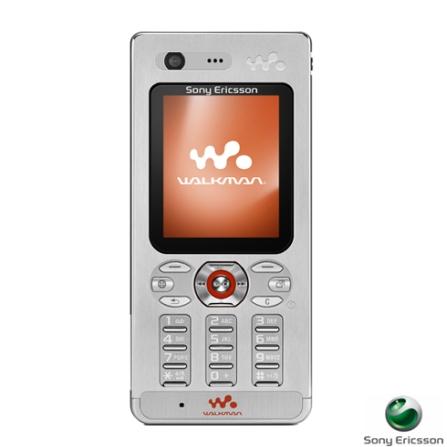 Celular GSM W880i Walkman Prata com Câmera de 2.0, Tocador de MP3, Bluetooth e Memory Stick de 1GB - Sony Ericsson