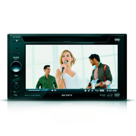 DVD Player Automotivo Sony XAVW62BT com Tela Touch 6.1