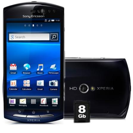 Smartphone Xperia  MT15 Azul com Display de 4,2