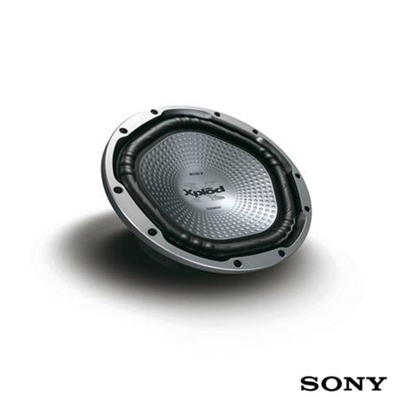 Subwoofer Sony com 300W, 30Hz-1000Hz, Impedância de 40hms - TX121L, 01 ano