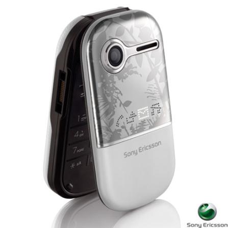 Celular GSM Z250 Cinza com Câmera de 0.3 VGA,Toques MP3 - Sony Ericsson - Z250BCO
