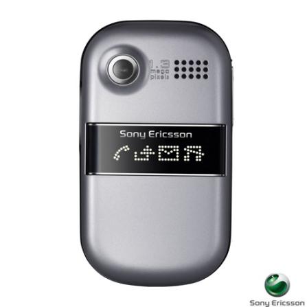 Celular GSM Z320 Cinza com Câmera de 1.3 MP / Toques em MP3 / Memória Interna de 12MB - Sony Ericsson, Bivolt, Bivolt, Cinza, 0, False, 1, N, False, False, False, False, False, False, I, 12 meses, Micro Chip