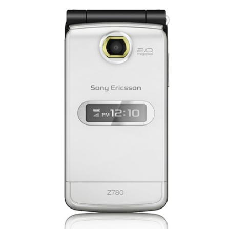 Celular GSM Z780 Prata com Câmera de 2 MP / Tocador de MP3 / Rádio FM / Bluetooth - Sony Ericsson