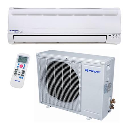 Condicionador de Ar Split Maxi Flex 9.000Btus / Quente/Frio / Branco - Springer - CJ38MQC00951, 220V, LA, 9.000 BTUs, Split, 9.000 a 11.500 BTUs