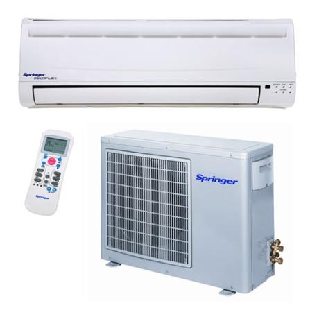 Condicionador de Ar Split 22000BTUs / Frio / Branco - Springer - CJ38XCE02251, 220V, LA, 22.000 BTUs, Split, 19.000 a 23.500 BTUs