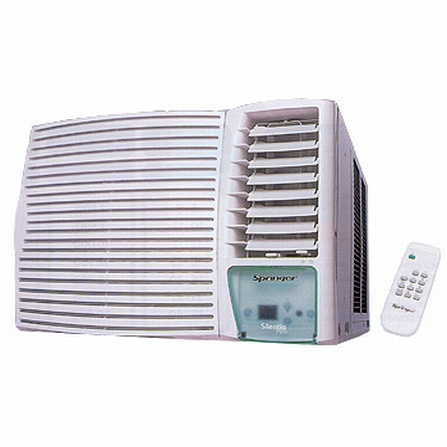 Condicionador de Ar 7.500Btus Quente/Frio Springer -  FQA075RB, 220V, LA, 7.500 BTUs, Split, 5.000 a 8.500 BTUs